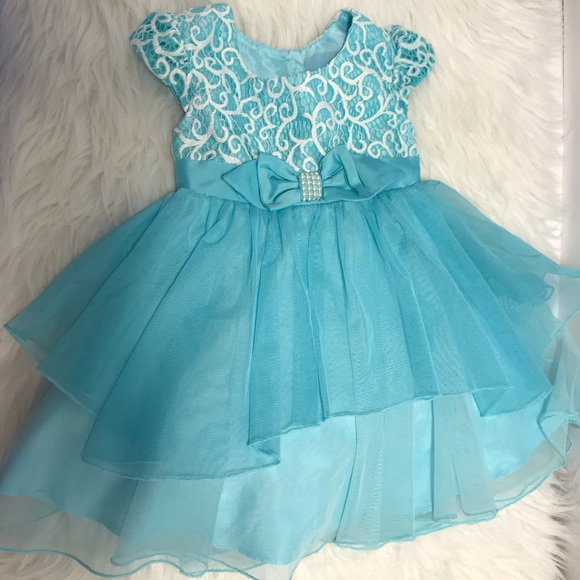 Jona Michelle Other - 🌷Sold🌷Blue Formal Dress baby Girl Size 24 months
